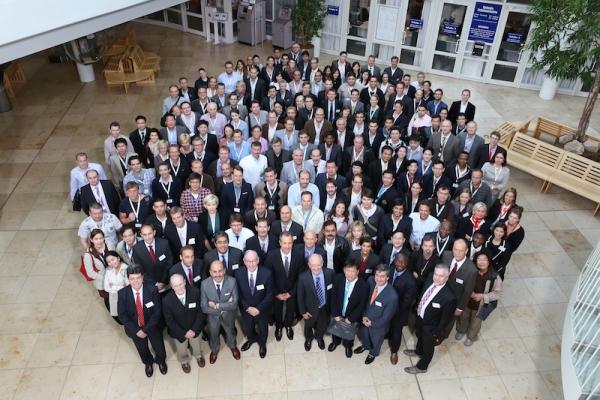 "Ärzte-Gruppenbild auf dem ""Regensburg Course in Facial Plastic Surgery"" 2012"
