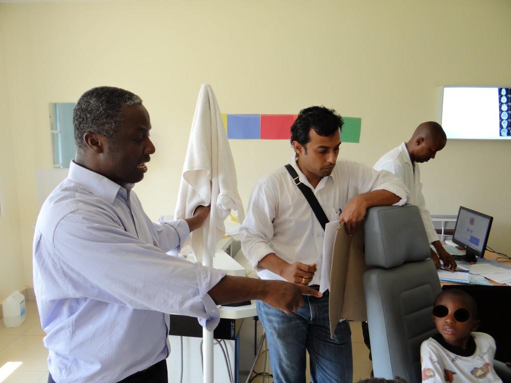 Patientengespräche in Rwanda 2016